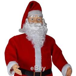 Life Size Santa Claus Animated Dancing Sound 6-Feet Christmas Decor