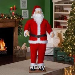Life Size Santa Claus Animated Dancing Sound 6-Feet Christmas Decor MP3 Dance NE