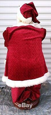 Life Size Santa Claus Christmas Animated Xmas Holiday 2003 Pac