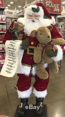 Life size santa claus Christmas prop