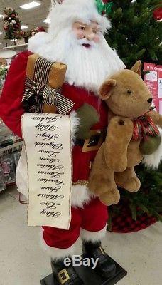 Life size santa claus Christmas prop please read
