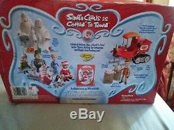 Lot Santa Claus Is Comin To Town North Pole Mail Truck Figures Playing Mantis