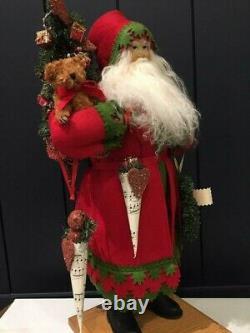 Lynn Haney All Hearts Come Home for Christmas Santa Claus Model w original box