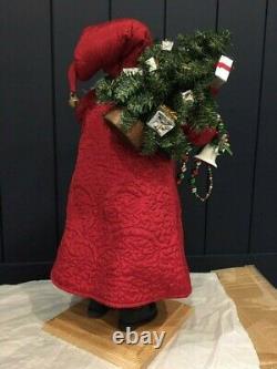 Lynn Haney Hear the Bells on Christmas Day Santa Claus Model