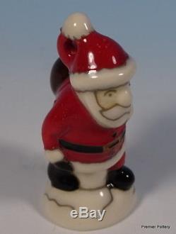 MOORCROFT Tree Decoration Father Christmas Santa Claus Figure Model RRP £164