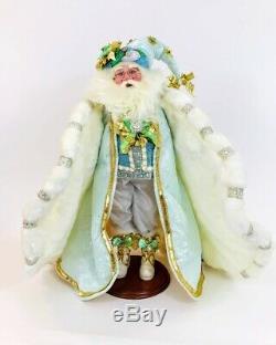 Mark Roberts Christmas Santa Claus Winter Elegance Santa #51-97076, NIB