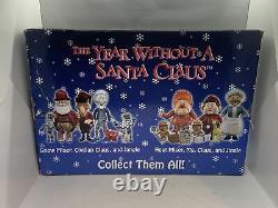 Media Play-Year Without A Santa Claus 11pc PVC Figure Set-Heat/Snow Miser, Vixen