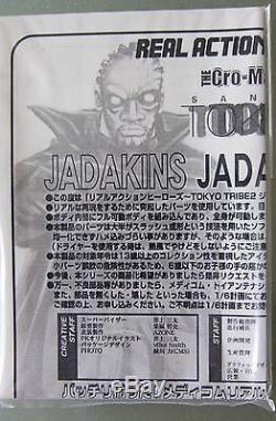 Medicom Rah. Jada Kins 12 Articulated Figure. Tokyo Tribe 2. By Santa Inoue