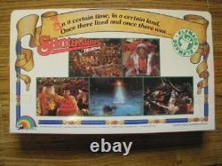 Mega Rare LJN 1985 SANTA CLAUS The Movie ELFMADE Ljn Ornament Figures Set