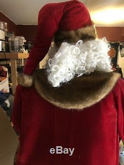 Member's Mark Huge 6.5 Ft Deluxe Figure Life Size Santa Claus Christmas