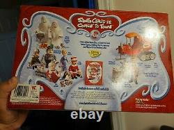 Memory Lane Rudolph Santa Claus Is Coming To Town Action Figure Trio