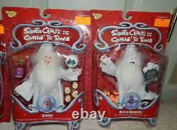 Memory Lane Santa Claus In Coming To Town Complete Set Of 9 Figures + Truck New