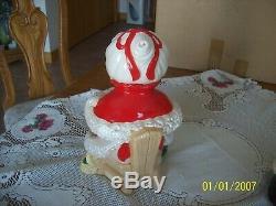 Mr. & Mrs. Santa Claus Vintage Atlantic Mold Ceramic Christmas In Original Box 1