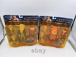 NECA Figure Set Rare Heat Miser Jangle And Snow Miser Jingle Palisades Toys Sale