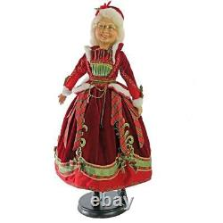NEW 2019 Katherine's Collection 24 Mrs. Claus Christmas Figure Doll 11-911528