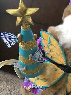 Neiman marcus 30 santa claus doll vintage butterfly