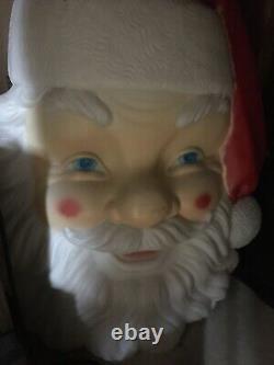 New 36 Santa Claus Face Blow Mold General Foam Plastics