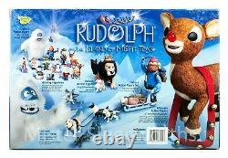 New Christmas Santa Rudolph Island of Misfit Toys Memory Lane Mrs Claus Elf MIB