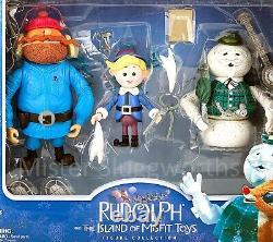 New Santa Christmas Rudolph Island Misfit Toys Figure Collection Memory Lane MIB