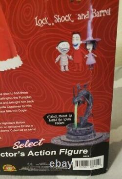 Nightmare Before Christmas Santa Claus Figure 2017 Diamond Select 15th anniversa