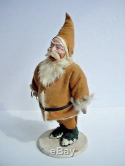 Old Antique 1920's Santa Claus Candy Container 12
