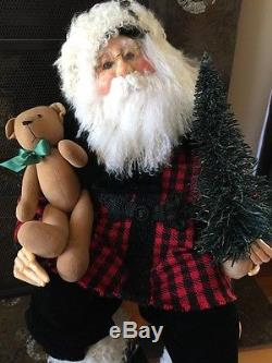 Original (not Demadco) Drolleries By Deborah Henderson Designer Santa Claus