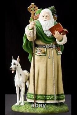 Pipka Santas Artist Choice Father Christmas of Ireland 11 Figure Retired MIB