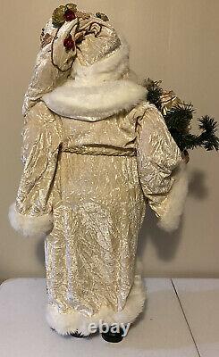 RARE Bombay Company RETIRED Santa Claus 31 Figure Statue