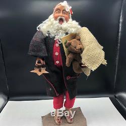 RICHARD SIMMONS SANTA CLAUS STATUE art doll sculpture figurine christmas teddy