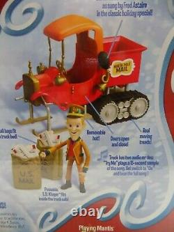 Rankin Bass Santa Claus Is Comin To Town North Pole Mail Truck & Figure