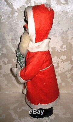 Rare Antique Paper Mache Santa Claus