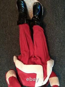 Rare Close To 3.5 Foot Tall Vintage Harold Gale Santa Clause Vintage Christmas