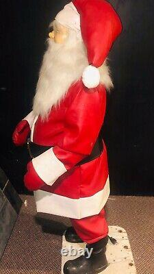 Rare David Hamberger Displays Animated Mechanical Outdoor Santa Claus Approx 55