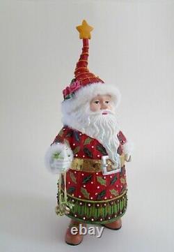 Rare Krinkles Dept. 56 Patience Brewster Christmas Santa Claus Figure 11