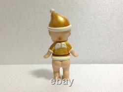 Rare! Sonny Angel Christmas Series 2008 Secret Gold Santa Claus Mini Figure
