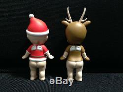 Rare! Sonny Angel Xmas Christmas Series 2006 Santa Claus & Reindeer Mini Figure