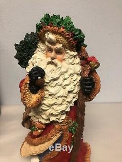 Rare Vintage Holiday Santa Claus Festivo 16 Christmas Figurine JC Penny