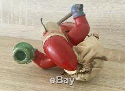 Rare Wendt & Kuhn Post Wwii Santa Claus Smoker Incense Burner Candle Holder