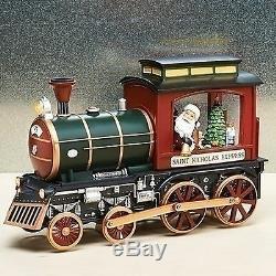 Roman Musical Light Up Santa Claus Train Engine St Nicholas Express Figure 30040