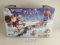 Rudolf The Island Of Misfit Toys Yukon's Sled & Dog Team Memory Lane 2002