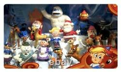 Rudolph The Red Nosed Reindeer Misfit Ultimate Figurine Collection 20 Figure Set