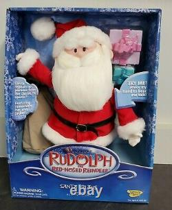 Rudolph The Red Nosed-Reindeer Santa Claus Ultimate Action Figure