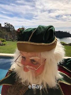 SALE Katherine's Collection Life Size Santa Claus