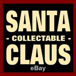 SANTA CLAUS FIGURE with TOYS & GIFTS / KURT ADLER CLOTHTIQUE /'GIFTS A PLENTY