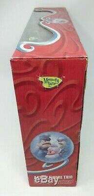 SANTA CLAUS IS COMIN TO TOWN Action Figure Trio BURGERMEISTER Tanta GRIMSLEY W18