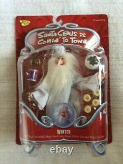 SANTA CLAUS IS COMIN' TO TOWN Winter Happy Version Memory Lane Action Figure NEW