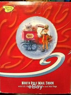 SANTA CLAUS IS COMING COMIN' TO TOWN MUSICAL MAIL TRUCK NORTH POLE Memory Lane
