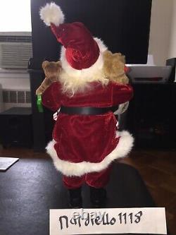 SANTA CLAUS figure Lot Of 5 Statues 18 Inches Tall