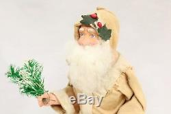 Santa Claus Candy Container 1920's Saint Nickolas Vintage British Christmas