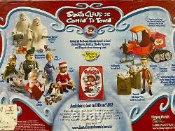 Santa Claus Is Comin' To Town Action Figure Trio Memory Lane